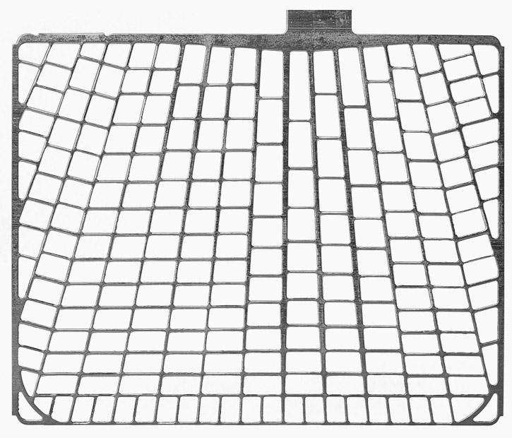 Technologie mřížky PowerFrame vs. jiné mřížky při 0 kilometrech